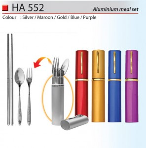 Aluminium Cutlery Set (HA552)