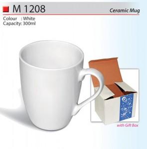 Budget Ceramic Mug (M1208)
