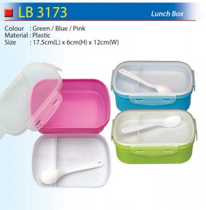 Plastic Lunch Box (LB3173)