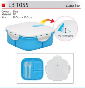 Lunch Box with Steam Vents (LB1055)