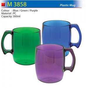 Colourful Plastic Mug (M3858)