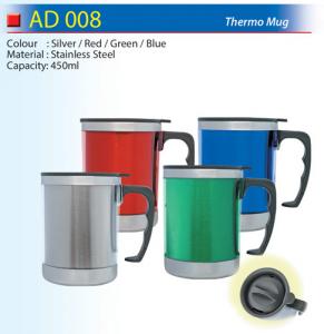 Colourful thermos mug (AD008)