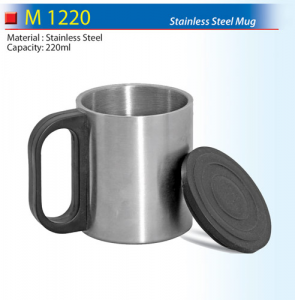 Mini stainless steel thermo mug (M1220)