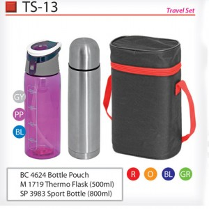 Travel thermos set TS-13